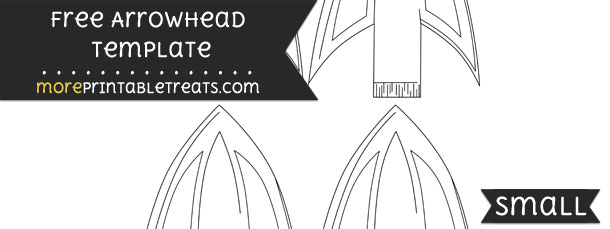 Arrowhead Template  U2013 Small