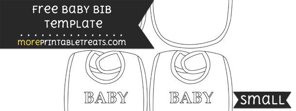 Baby Bib Template – Small