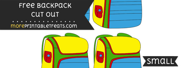 Backpack Cut Out – Small