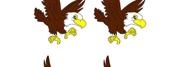 bald eagle cut out  u2013 small