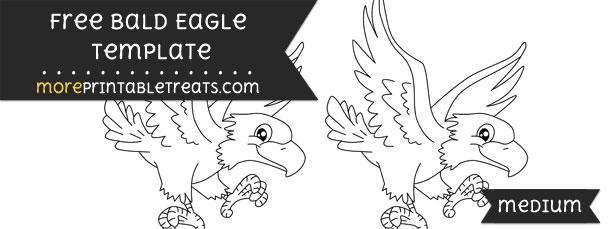 bald eagle template medium