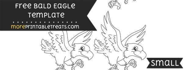 Bald Eagle Template – Small