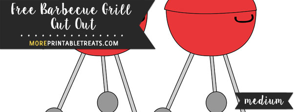 Barbecue Grill Cut Out – Medium