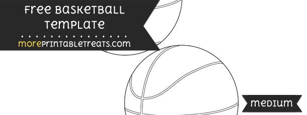 Basketball Template – Medium