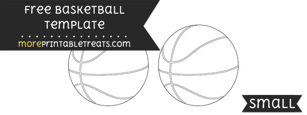 basketball template small. Black Bedroom Furniture Sets. Home Design Ideas