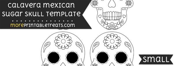 Calavera mexican sugar skull template small pronofoot35fo Images