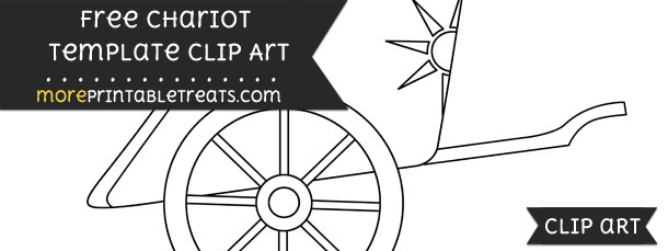 Chariot Template – Clipart