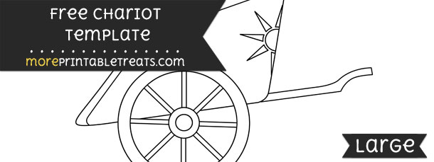 chariot template  u2013 large