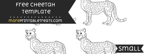 Cheetah Template – Small