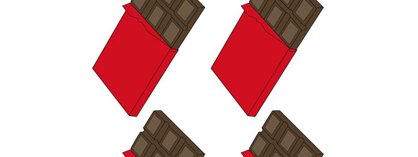 Chocolate Bar Cut Out – Small