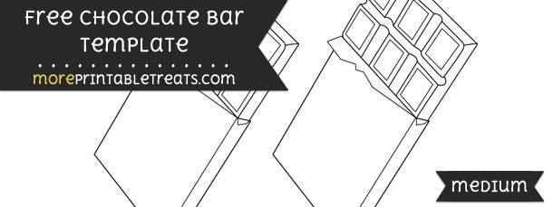 Chocolate Bar Template – Medium