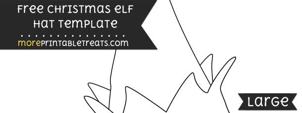 Christmas elf hat template large maxwellsz
