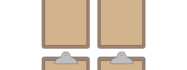 Clipboard Cut Out – Small