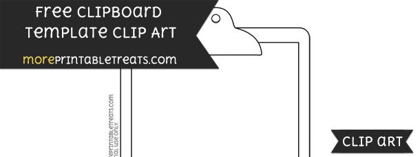 clipboard template clipart