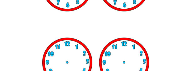 Clock Face Cut Out – Small