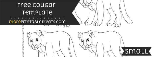 Cougar Template – Small