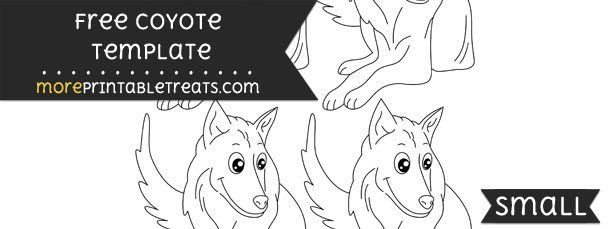 Coyote Template – Small