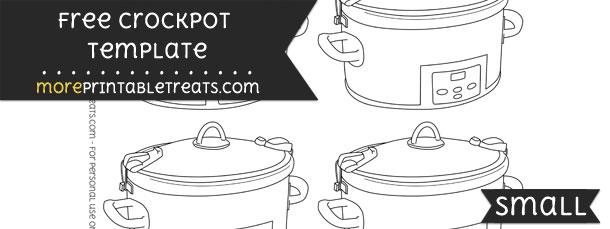 Crockpot Template – Small