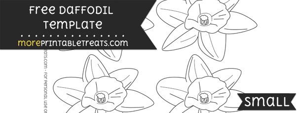daffodil template small