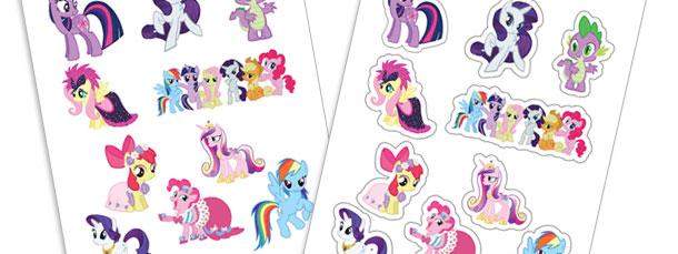 DIY My Little Pony Stickers