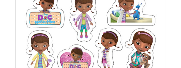 Doc McStuffins Sticker Sheet