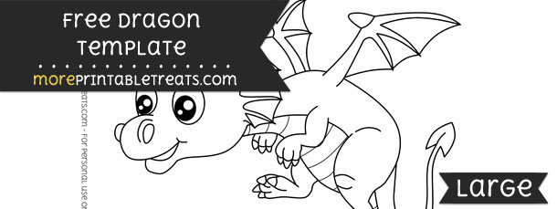 Dragon Template – Large
