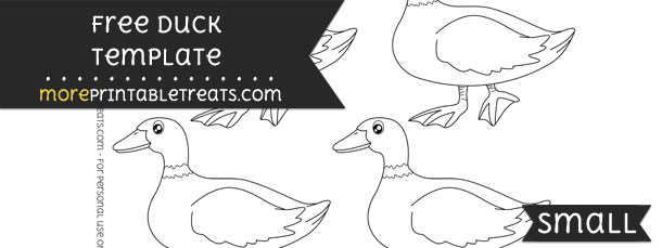 Duck Template – Small