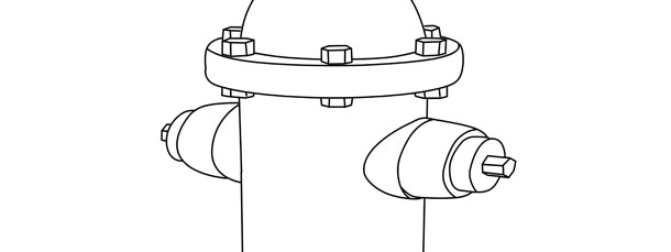 fire hydrant template large