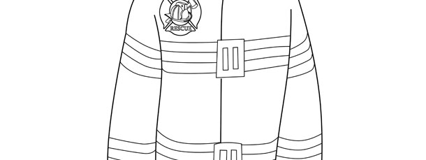 firefighter jacket template large