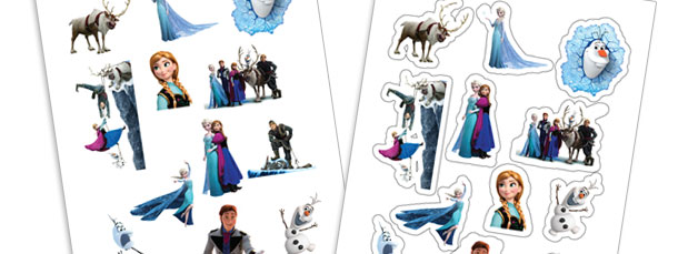 Frozen Sticker Sheet