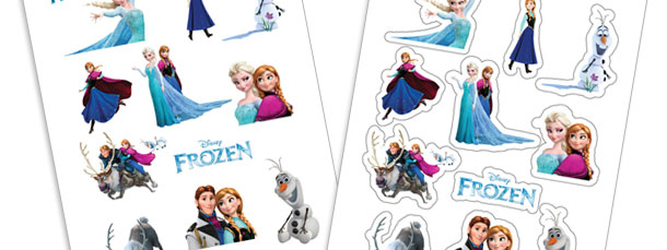 Frozen Stickers Printable