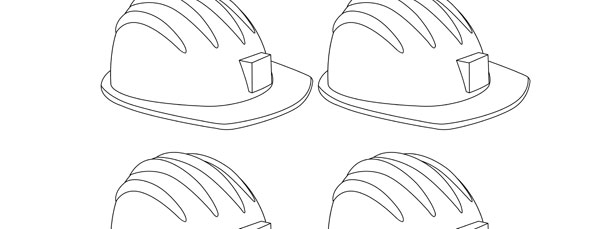Hard Hat Template Small