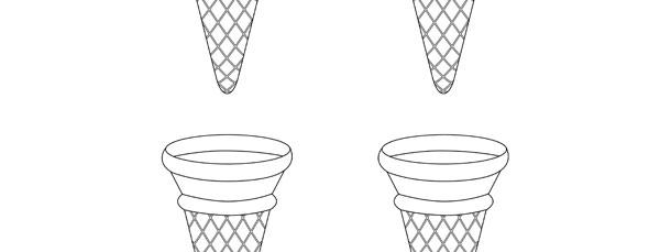 Ice Cream Cone Template – Small