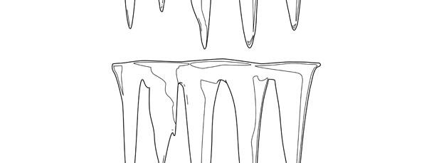 icicle template medium
