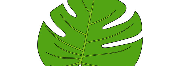 jungle leaf templates to cut out - jungle leaf cut out large
