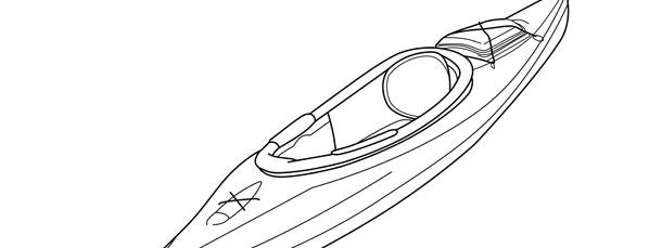 Kayak Template Large