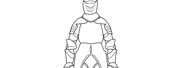 knights armor template  u2013 large