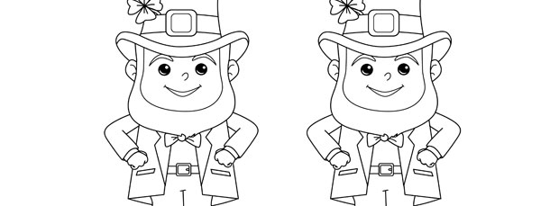 Leprechaun Template – Medium
