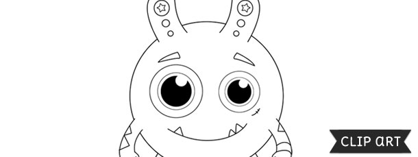 Monster Template  Clipart