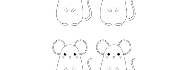mouse template small