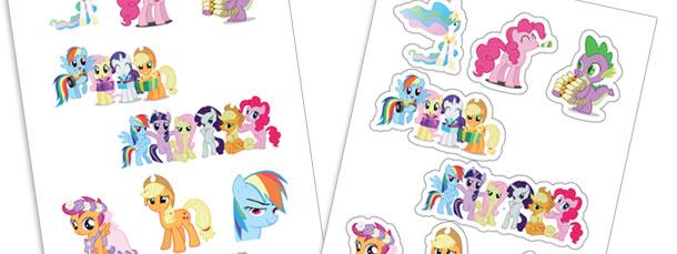 My Little Pony Stickers Printable