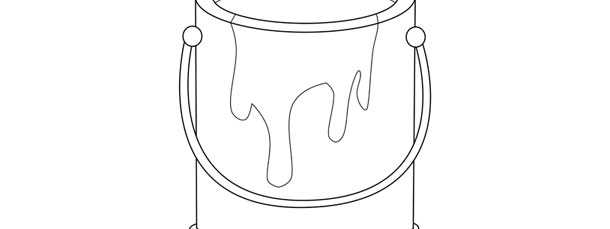Paint Can Template – Large