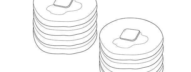 pancakes template  u2013 medium