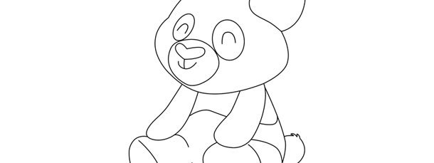 panda template large