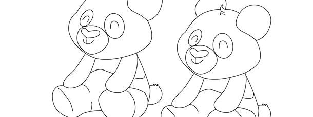 panda template medium