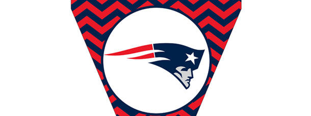 Patriots Pennant Flag – Chevron