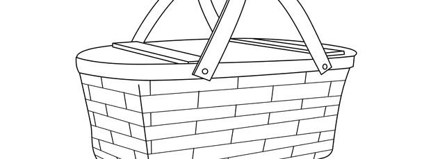 picnic basket template large