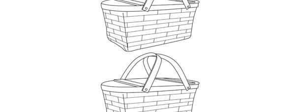 picnic basket template medium