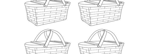 picnic basket template small