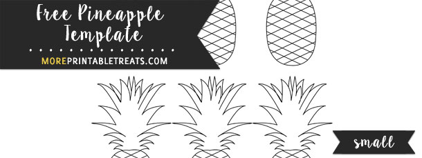 Pineapple Template – Small